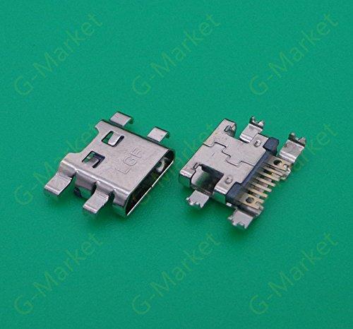 (Gimax DC Power USB Micro Charging Jack Socket Port Connector for LG G3 LS885 SU640 LU6200 E980 P999 P990 P920 E900 Optimus 7)