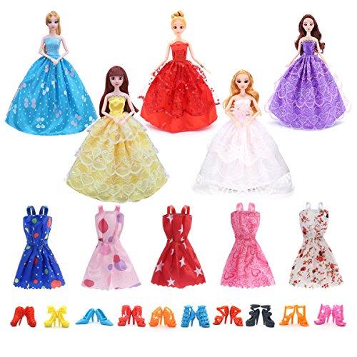 Barbie Doll Clothing Patterns - SHINNING ME 11.0