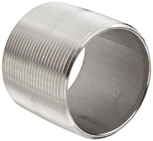 Dixon CN200SS Stainless Steel 316 Pipe and Welding Fitting, Close Nipple, 2
