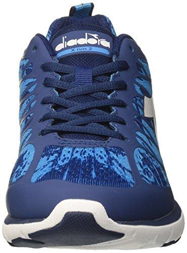 Diadora Men's X 2 Running Shoes Blue (Blu Classico/Blu Fluo C6052) 3oVh926