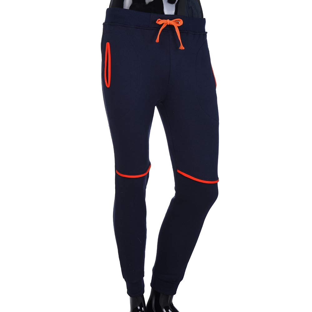 SOLELING Pantaloni Sportivi da Uomo Pantaloni Sportivi Fitness Sport Pantaloni da Jogging Pantaloni da Fitness da Uomo Pantaloni da Uomo di Colore Puro Tasche Casual Pantaloni Sportivi