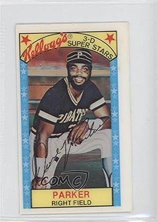 Amazoncom Dave Parker Baseball Card 1979 Kelloggs 3 D
