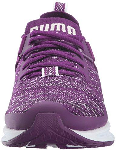 puma Lo Basses Purple puma Black Femme White Puma Pumaignite Dark Ignite Wn Evoknit zXgxw1