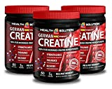 Creatine bulk powder - GERMAN CREATINE CREAPURE MONOHYDRATE 500 GRAM 100 SERVINGS - increase stamina (3 Bottles)