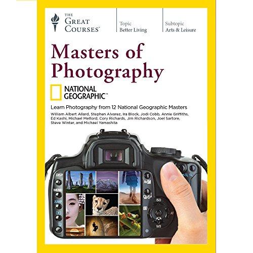 National Geographic Masters of Photography by The Great Courses