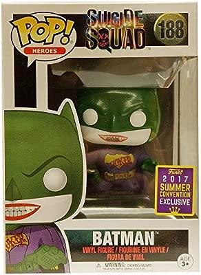 Figura Pop DC Comics Suicide Squad Joker Batman SDCC 2017 ...