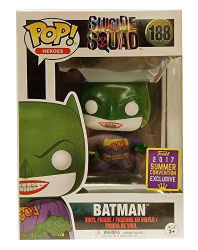 Funko Pop! SDCC 2017 Suicide Squad Joker Batman, Limited Edition Summer Convention Exclusive