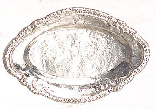 dollhouse silver tray - 7