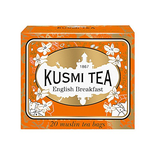 Kusmi tea English Breakfast, 20 muslin tea bags Kusmi English Breakfast