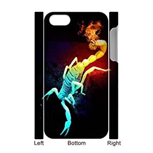 ALICASE Diy 3D Protection Hard Case Scorpion For Iphone 5C [Pattern-1]