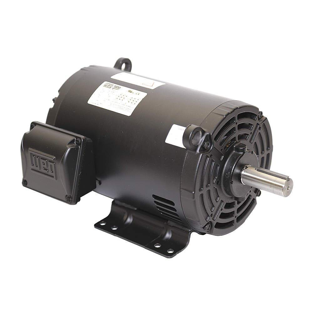 WEG 01018OT3E215T-S W01 ODP NEMA Premium Efficiency Severe Duty/General Purpose Motor, 10 HP, 3-Phase, 1770 rpm, 208-230/460 V, 60 Hz, 213/5T Frame