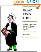GREAT CASES I LOST