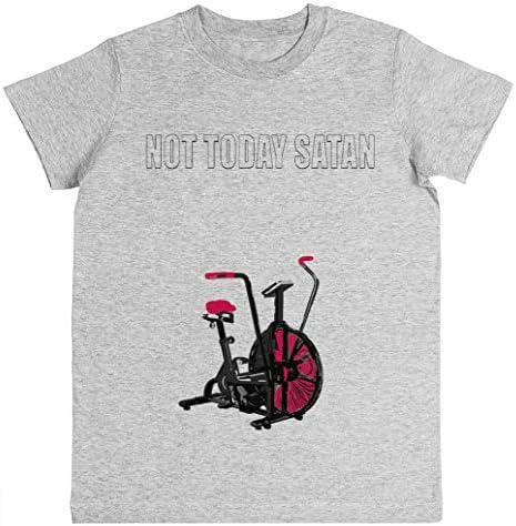 Rundi Not Today Satan Air Assault Bike Crossfit Shirt Unisexo Niño ...