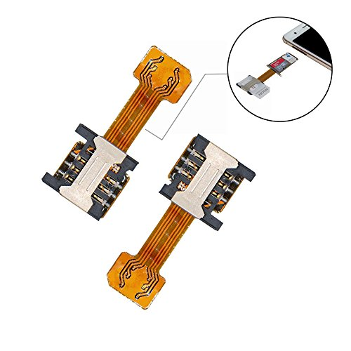 Dual SIM Adapter Set for Android Smartphone Series (I Shape Version)