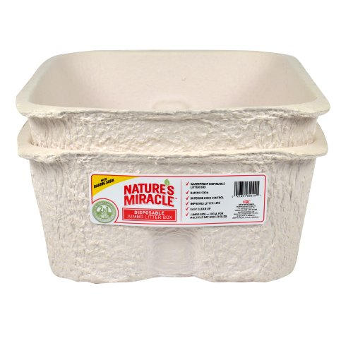 Natures-Miracle-Disposable-Litter-Box-Jumbo-2-Pack