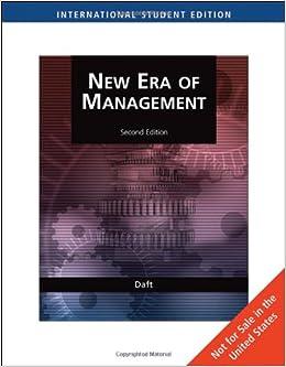 The new era of management richard daft author 9780324537772 the new era of management richard daft author 9780324537772 amazon books fandeluxe Images