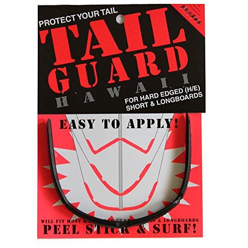 (SurfCo - Surfboard Tail Guard Single Kit in Black)
