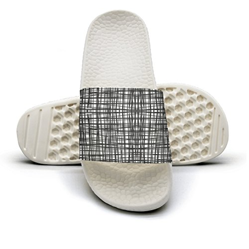 Cool Free Easy Patterns Gray Color Summer Slippers For Men
