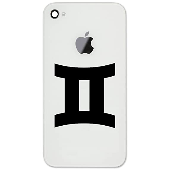 Amazon Zodiac Sign Gemini Silhouette Vinyl Cell Phone Decal For