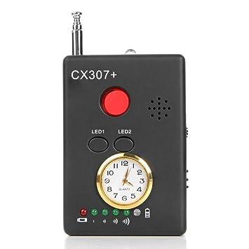 ZQYR CAMERA# Detector De Señal Inalámbrico para Dispositivo De Escucha Radar Escáner De Radio Alarma