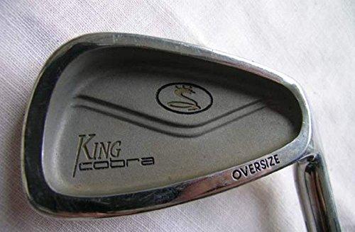 Cobra King Cobra Oversize Iron Set 3-PW Stock Graphite Shaft Graphite Stiff Right Handed 38 in (King Cobra Oversize 3 Iron)