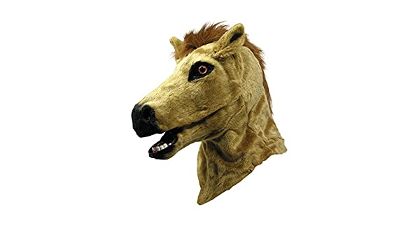 Amazon.com: Forum Novelties Horse Mask with Moving Mouth, One Size: Toys & Games