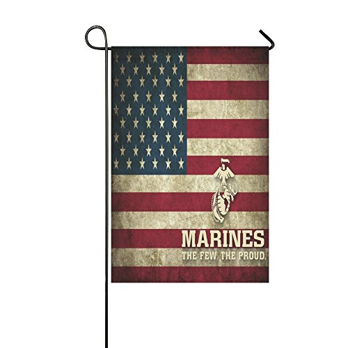 USMC United States Marine THE FEW THE PROUD American Flag Ou