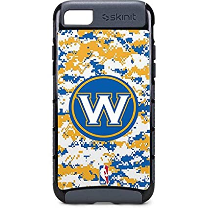 huge selection of 0afa5 4c3d4 Amazon.com: Skinit NBA Golden State Warriors iPhone 8 Cargo Case ...