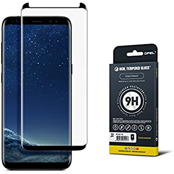 how to put on tempered glass s8