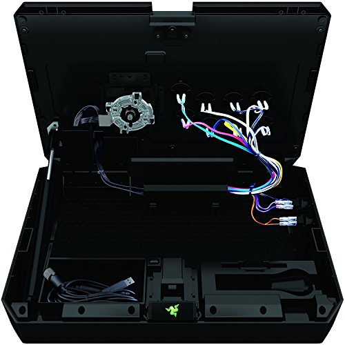 Razer Atrox For Xbox One: Fully Mod-Capable - Sanwa Joystick and Buttons -  Internal Storage Compartment - Tournament Arcade Stick for Xbox One