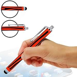 Tech Protect LG GW880 Dos Exclusivo Zebra Style Red High capacitiva LCD de pantalla táctil Stylus Pens Retro