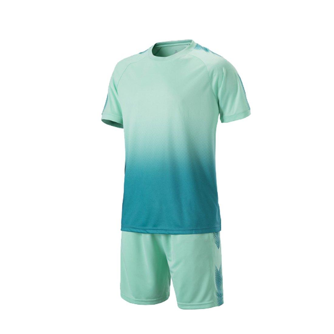 IOSHAPO Football Soccer Jersey Jersey y Shorts de fútbol de Manga Corta: Amazon.es: Ropa y accesorios