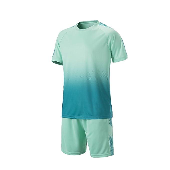 MUCHAO Football Sudaderas y Pantalones Cortos Fútbol Trajes de fútbol Establece Manga Corta: Amazon.es: Ropa y accesorios