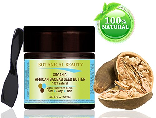 ORGANIC AFRICAN BAOBAB SEED BUTTER. 100 % Natural / 100% PUR