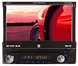 06 honda accord double din - Dual XDVD1170 In-Dash 7-Inch Touchscreen DVD/MP3/WMA Car Stereo Receiver with Direct USB iPod Control and SD Card Reader