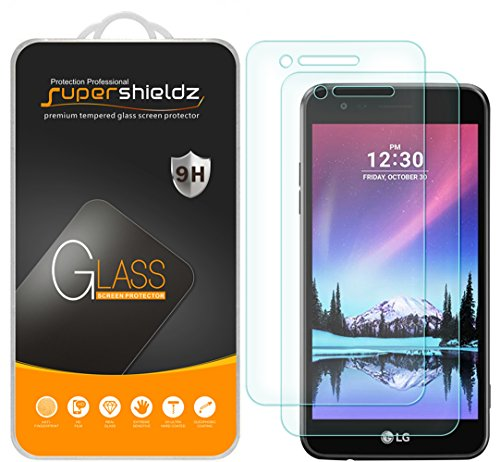 [2-Pack] Supershieldz for LG Fortune/LG (Rebel 2) LTE 4G Tempered Glass  Screen Protector, Anti-Scratch, Anti-Fingerprint, Bubble Free, Lifetime