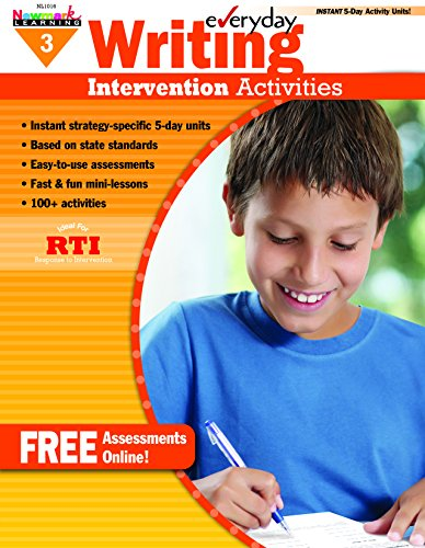 - Everyday Intervention Activities for Writing Grade 3 Book (Eia)