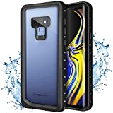 Moko Samsung Galaxy Note 9 Waterproof Case, Ultra Protective Case Built-in Screen Protector