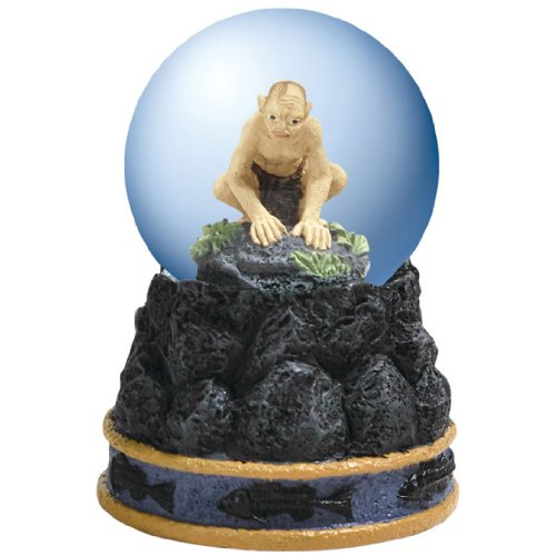 Westland Giftware Water Globe Figurine, 45mm, Lord of The Rings Gollum