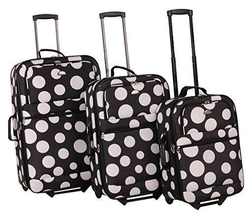 american-flyer-tokyo-3-piece-luggage-set-black-white-one-size