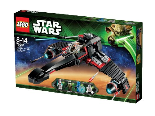 משחק לגו- LEGO Star Wars Jek-14's Stealth Starfighter 75018