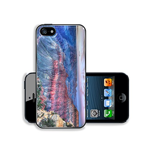 MSD Premium Apple iPhone 5 iphone 5S Aluminum Backplate Bumper Snap Case Image ID 23997772 Arizona sunset Grand Canyon National Park Mother Point in USA