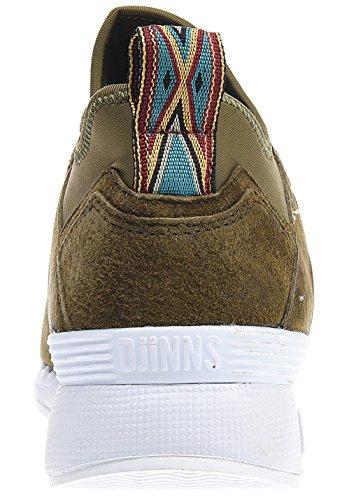 Djinns - Zapatillas para hombre verde caqui 300x420mm