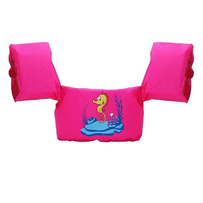 Sundwsports Manguitos de Natación para Niños Brazo Pecho Banda flotadores Flotación Mangas Natación Entrenadores Chaleco Salvavidas