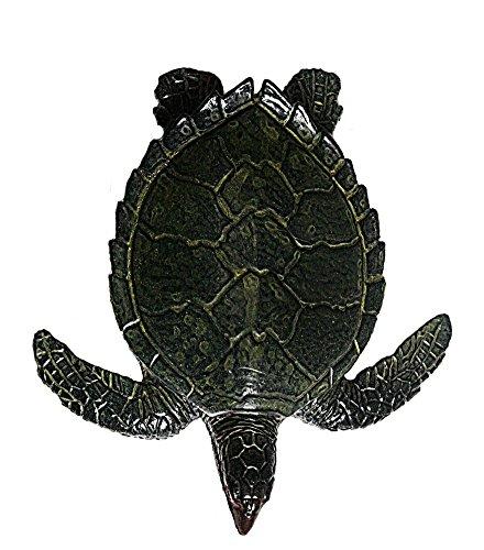 Plastic Sea Turtle (AAA 12814 Baby Green Sea Turtle Sealife Animal Toy Replica)
