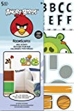good looking angry birds decals Sandylion Angry Birds Roomscape Mini Wall Accent Stickers, 6 by 10-Inch