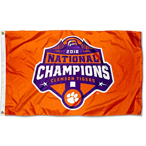 Clemson Tigers College Football 2018 National Champions - Football National Champions
