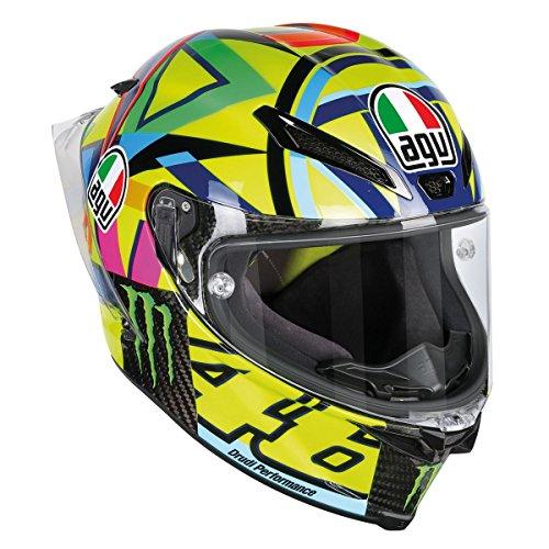 AGV Pista GP R Carbon Rossi Soleluna 2016 Helmet Size MS - DOT-Approved