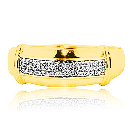 10k-gold-mens-wedding-band-013cttw-pave-diamonds-9mm-wide