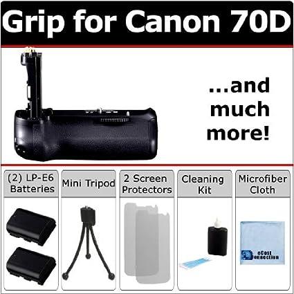 Profesional EOS 70d multiusos de empuñadura de batería para Canon ...